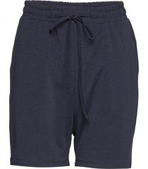 linda shorts shorts flowy shorts/casual shorts blå kaffe