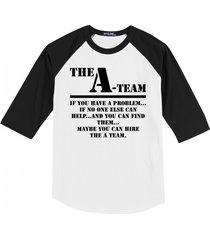 the a team 80's tv show shirt mens raglan t