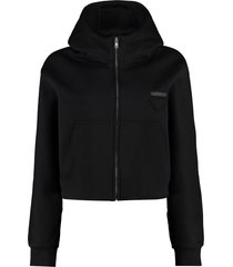 prada full zip hoodie