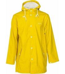 tretorn regenja wing rainjacket yellow geel