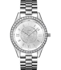 jbw women's mondrian jewelry set diamond (1/6 ct.t.w.) stainless steel watch