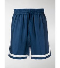 casablanca drawstring-waist track shorts