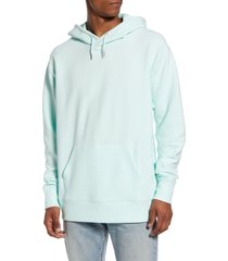 men's bp. ottoman pullover hoodie, size x-large - blue/green