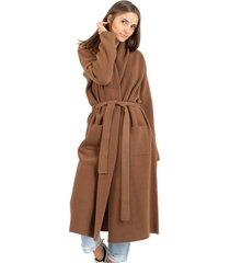 long earth knit coat