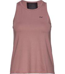 laser cut singlet t-shirts & tops sleeveless rosa röhnisch