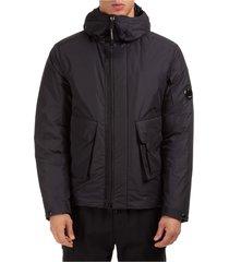 men's outerwear down jacket blouson hood micro m lens