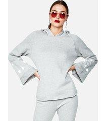 edwardo hoodie - xs heather grey