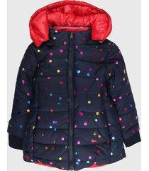 chaqueta azul-rosa-multicolor boboli