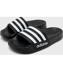 sandalia adilette shower k- negro adidas performance
