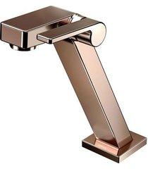 torneira para banheiro mesa  stillo cobre polido bica baixa - docol - docol