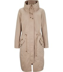 parka sciancrato a collo alto (marrone) - bpc bonprix collection