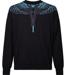 marcelo burlon relaxed fit sweater