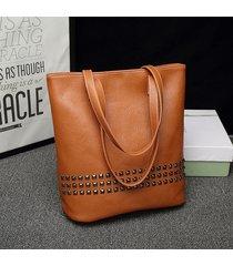 sacchetti di spalla classici dell'annata della borsa del rivetto della borsa dell'unità di elaborazione delle donne