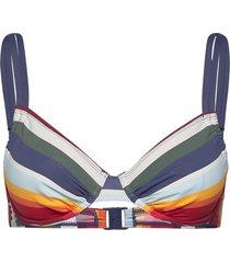 beach tops with wire bikinitop multi/mönstrad esprit bodywear women