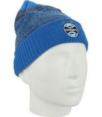 gorro do grêmio concept new era - adulto - azul claro/preto