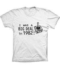 camiseta lu geek manga curta big deal branco