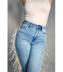 akira azalea wang we boomin rhinestone high rise denim skinny jeans