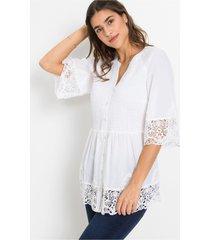 blouse, 3/4 mouw
