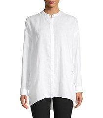 organic linen blouse