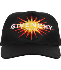 givenchy black curved cap
