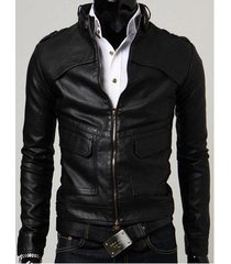 men lather jacket, slim fit men's style leather jacket, biker leather jacket men