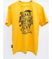 t-shirt make pogo core again face
