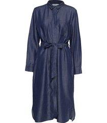 noor jurk knielengte blauw masai