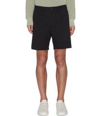 eaton' crinkle cotton shorts