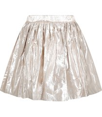 bonpoint gold skirt for girl