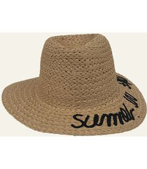 sombrero camel nuevas historias summer in the sea