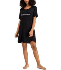 jenni short sleep shirt nightgown, created for macy's