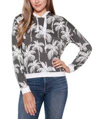 belldini palm-print hoodie