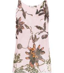 dorothee schumacher scoop-neck vest top - pink