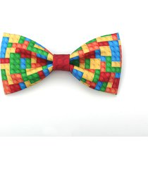 original holiday gift lego pre-tied adjustable neck tie bowties men boys wedding