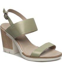 heeled sandal shoes summer shoes heeled sandals grön ilse jacobsen