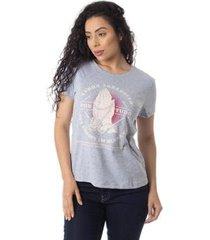 camiseta agradecer thiago brado 6027000007 cinza - cinza - pp - feminino