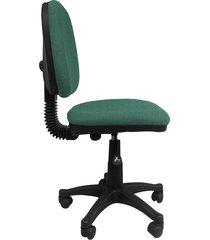 silla oficina  platina media  turquesa  ref:2048