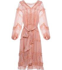 althea ruffled dress