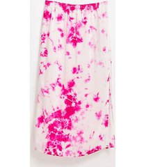 lou & grey tie dye silk midi skirt