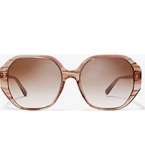 mk occhiali da sole pasadena - rosa (rosa) - michael kors