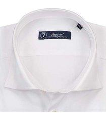 sleeve7 overhemd schitterend wit monti
