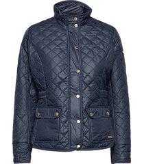 cathrine quilted jacket kviltad jacka blå sebago