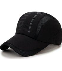 berretto da baseball traspirante estivo da uomo cappellino visiera da baseball traspirante cappellino sportivo da esterno