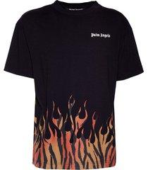 tiger flames t-shirt