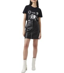 french connection crolenda mini skirt