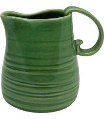 leiteira em cerâmica bon gourmet ocean rojemac verde