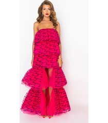 akira all eyes on me high low tulle dress