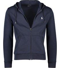 ralph lauren vest sweater navy capuchon
