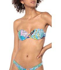 versace bikini tops