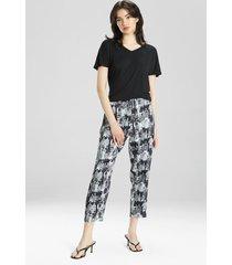natori dynasty pants pajamas, women's, size l sleep & loungewear